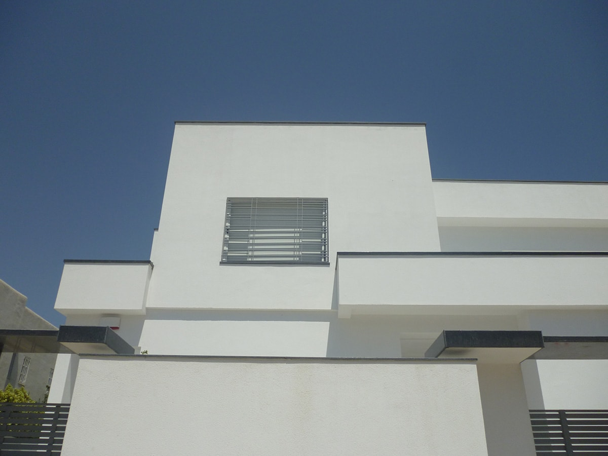 Awesome exemple facon de entre villa en tunisie ideas for Architecture maison tunisie